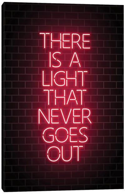 There Is A Light Canvas Art Print
