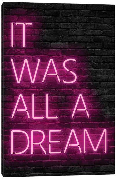 Pink All Dream Canvas Art Print