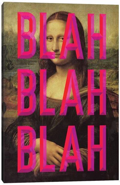 Pink Mona Lisa Canvas Art Print