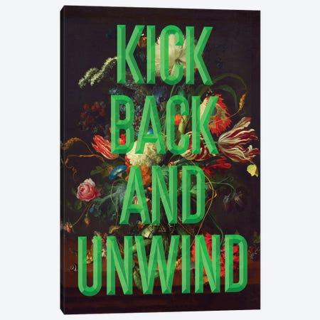 Kick Back Canvas Print #IDR81} by Ink & Drop Canvas Print