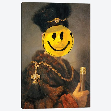 Nobleman Canvas Print #IDR86} by Ink & Drop Canvas Artwork