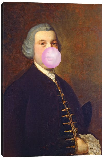 Bubblegum Canvas Art Print