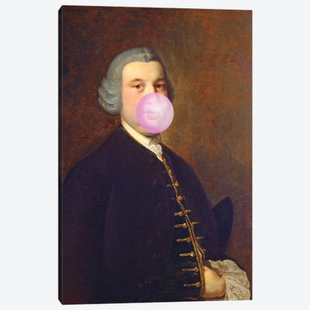 Bubblegum Canvas Print #IDR88} by Ink & Drop Canvas Print