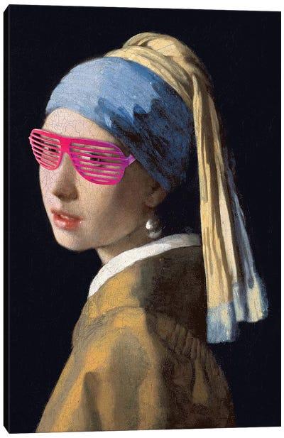 Shutter Shades Pink Canvas Art Print