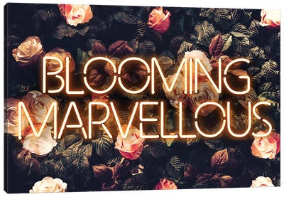 Blooming Canvas Art Print