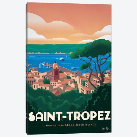 Saint Tropez Canvas Print #IDS103} by IdeaStorm Studios Art Print