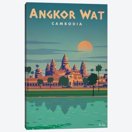 Angkor Wat Canvas Print #IDS106} by IdeaStorm Studios Canvas Wall Art