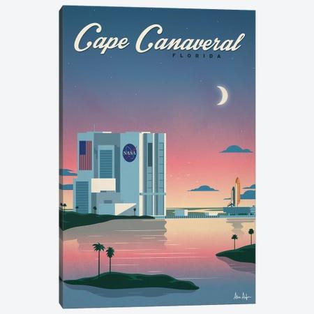 Cape Canaveral Poster Canvas Print #IDS107} by IdeaStorm Studios Canvas Art