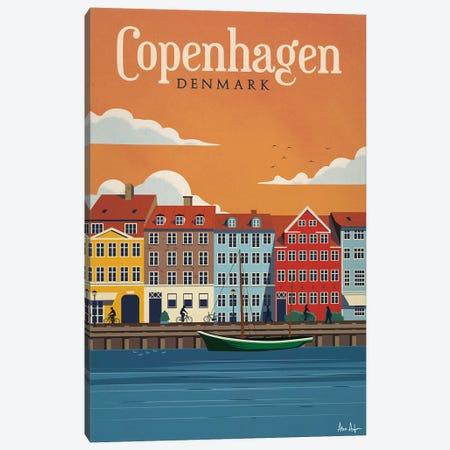 Copenhagen Canvas Print #IDS10} by IdeaStorm Studios Art Print