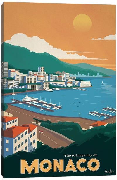 Monaco Canvas Art Print