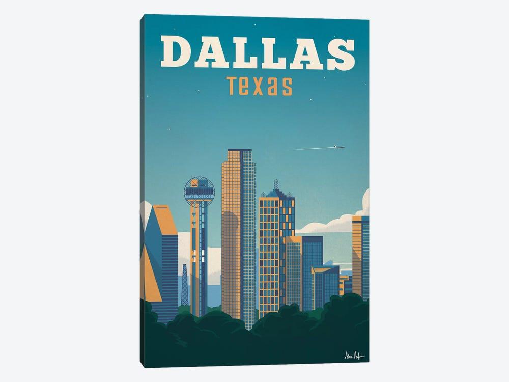 Dallas by IdeaStorm Studios 1-piece Canvas Wall Art