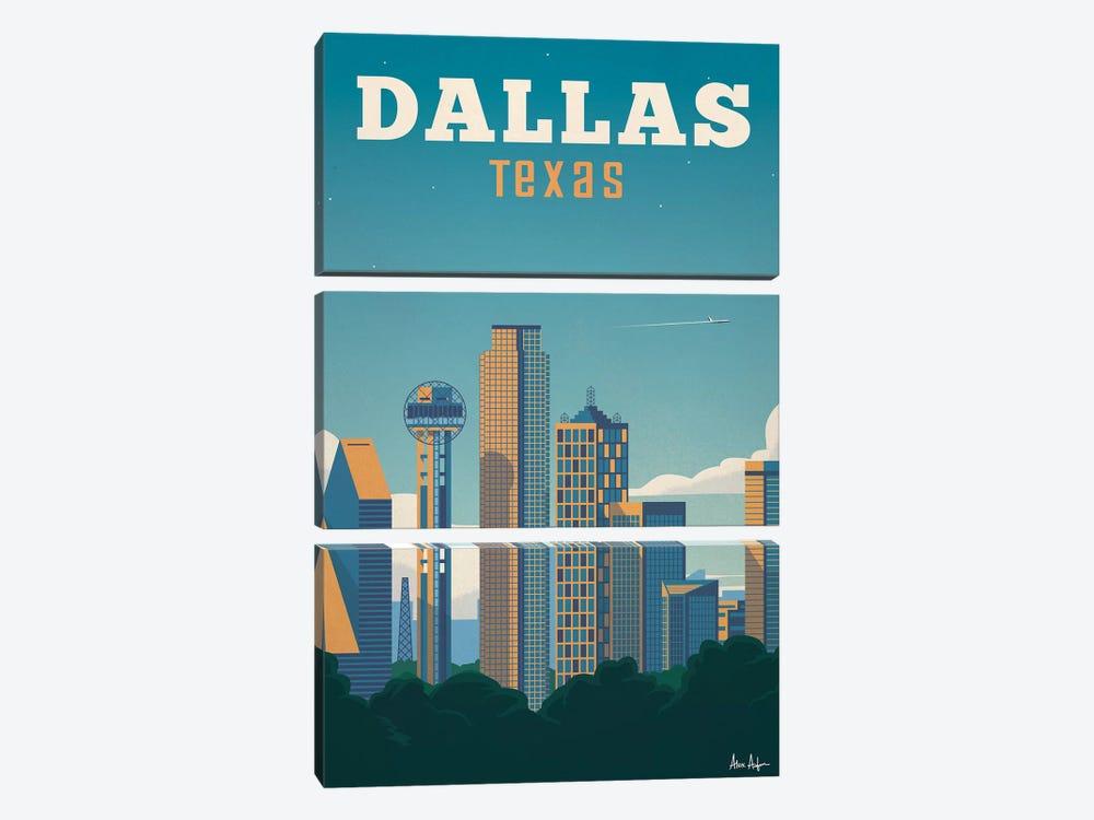 Dallas by IdeaStorm Studios 3-piece Canvas Art
