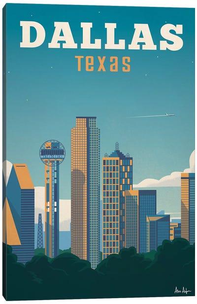 Dallas Canvas Art Print