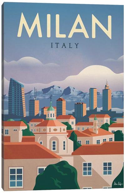 Milan Canvas Art Print