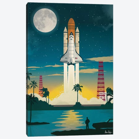 Discovery Launch Canvas Print #IDS12} by IdeaStorm Studios Canvas Print