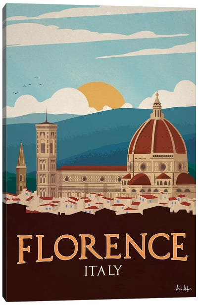 Florence Canvas Art Print