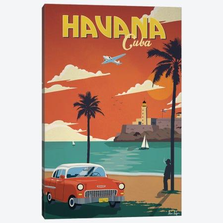 Havana Canvas Print #IDS14} by IdeaStorm Studios Canvas Artwork