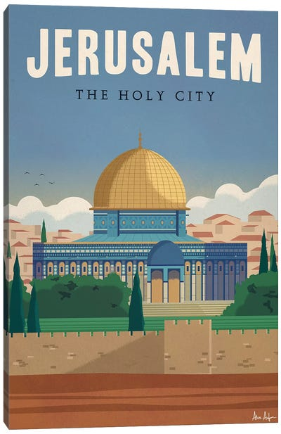 Jerusalem Canvas Art Print