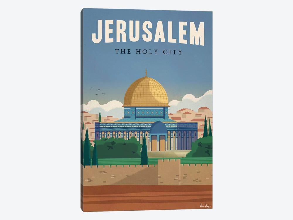 Jerusalem by IdeaStorm Studios 1-piece Canvas Artwork