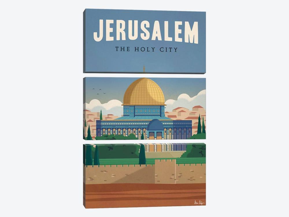 Jerusalem by IdeaStorm Studios 3-piece Canvas Artwork