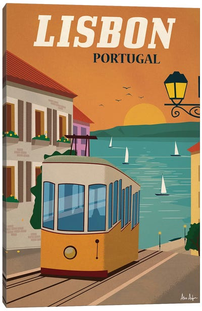 Lisbon Canvas Art Print