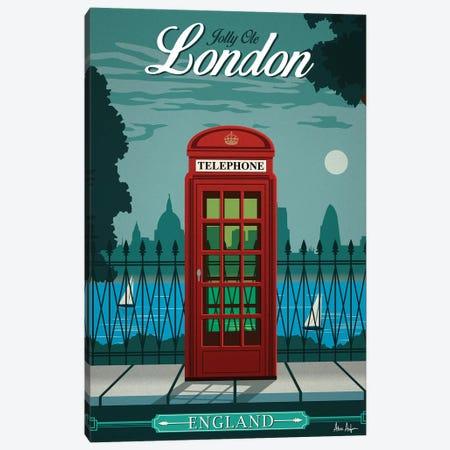 London Canvas Print #IDS19} by IdeaStorm Studios Art Print