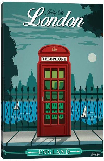 London Canvas Art Print