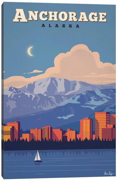 Anchorage Canvas Art Print