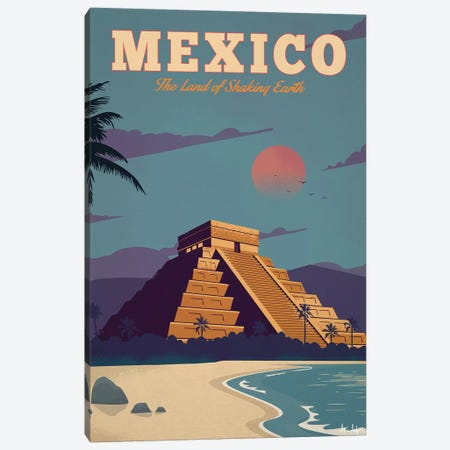 Mexico Canvas Print #IDS22} by IdeaStorm Studios Canvas Artwork