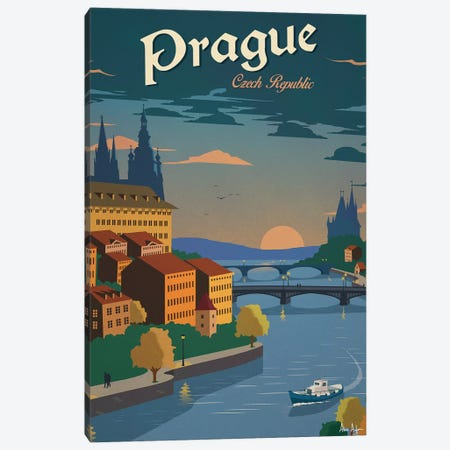 Prague Canvas Print #IDS25} by IdeaStorm Studios Canvas Art Print