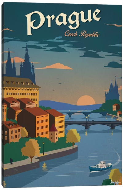 Prague Canvas Art Print