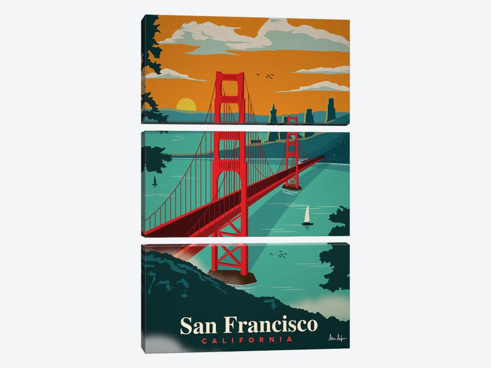 San Francisco by IdeaStorm Studios 3-piece Art Print