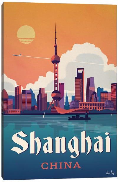 Shanghai Canvas Art Print