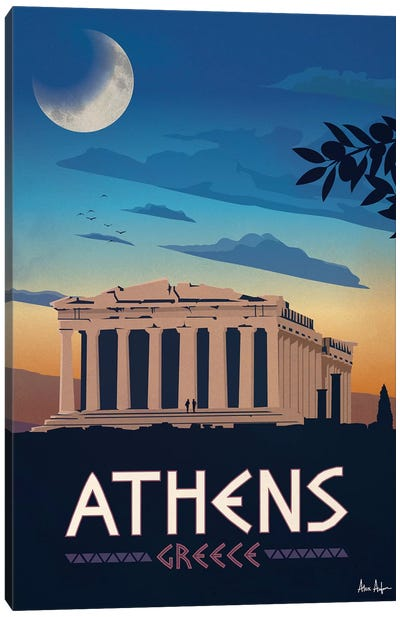 Athens Canvas Art Print