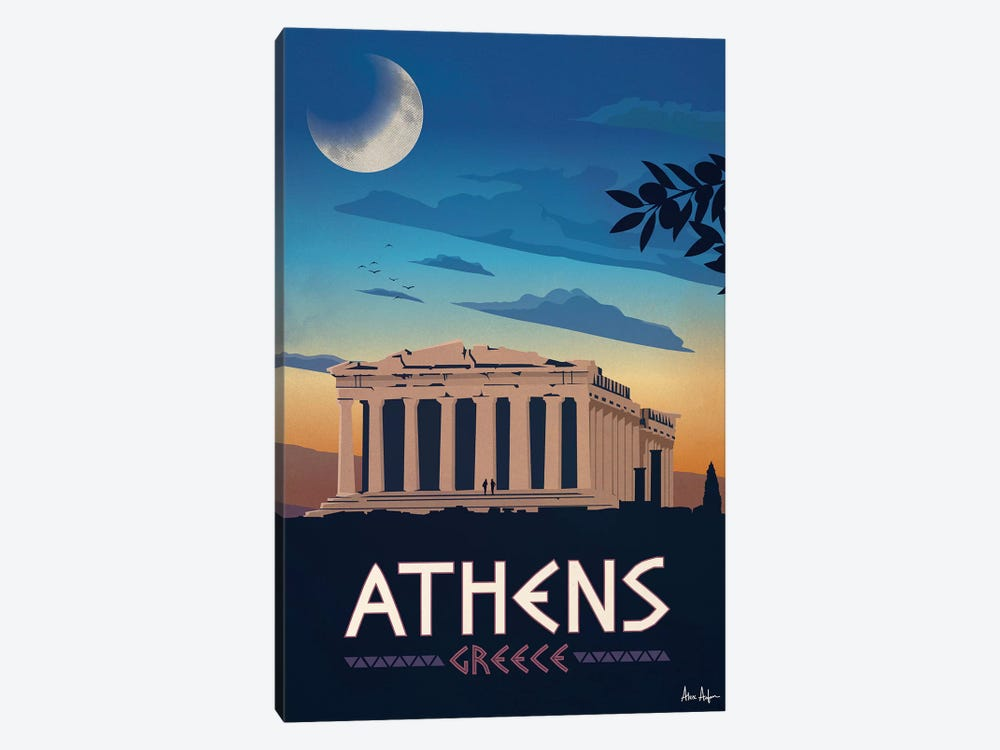 Athens by IdeaStorm Studios 1-piece Canvas Wall Art