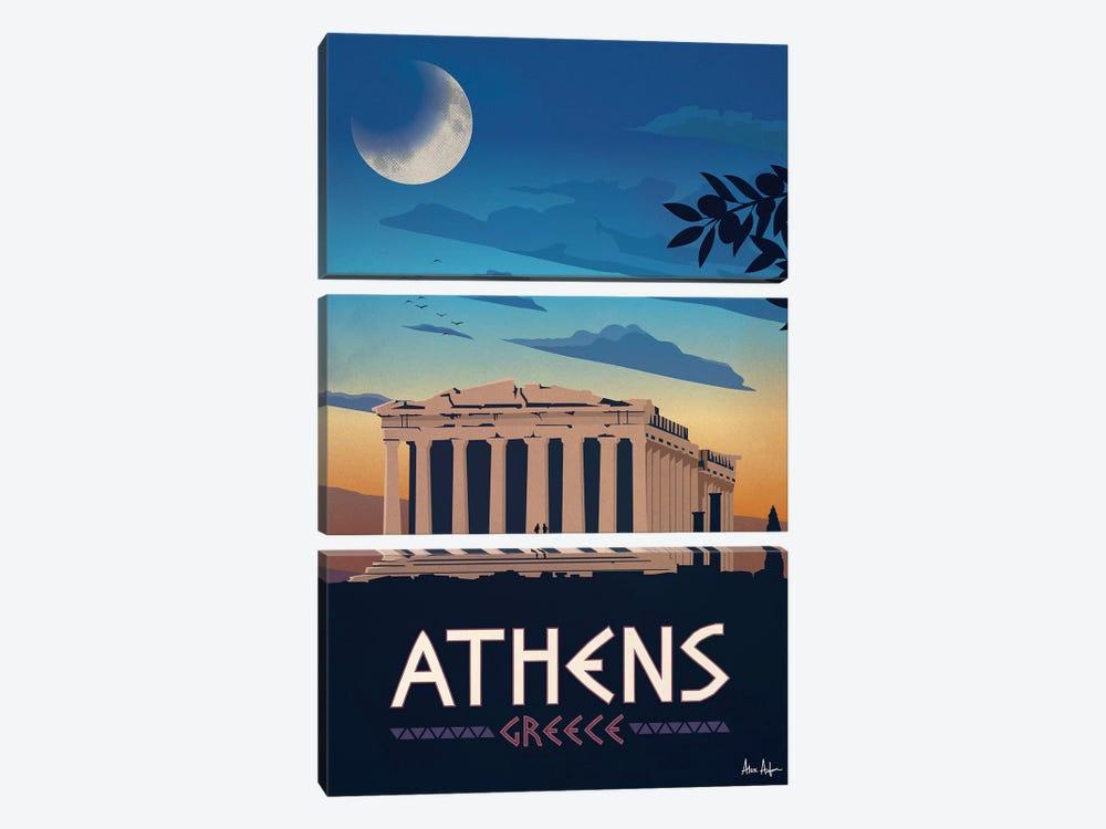 Athens by IdeaStorm Studios 3-piece Canvas Artwork