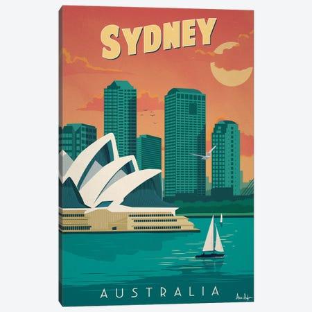Sydney Canvas Print #IDS31} by IdeaStorm Studios Canvas Art Print