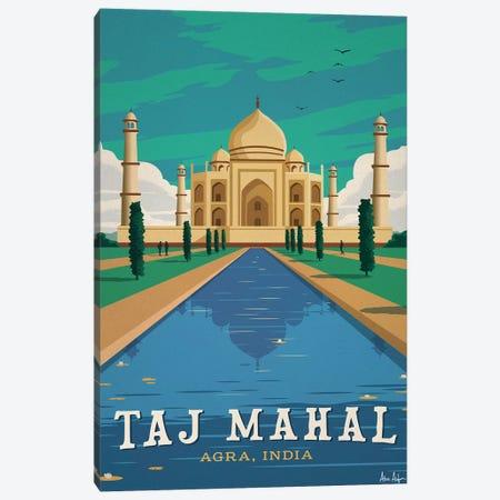 Taj Mahal 3-Piece Canvas #IDS32} by IdeaStorm Studios Canvas Print