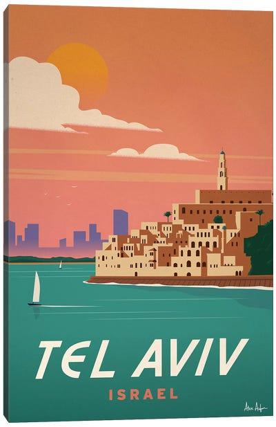Tel Aviv Canvas Art Print