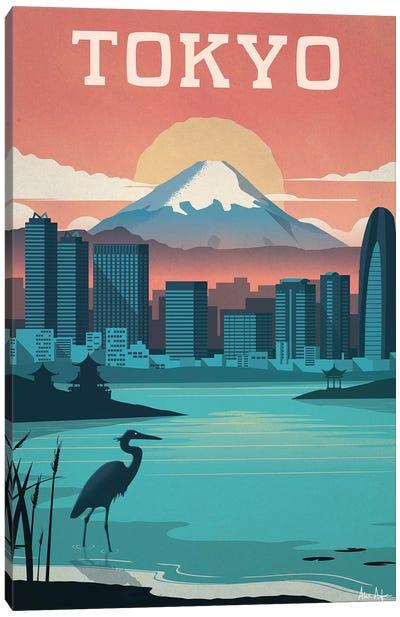 Tokyo Canvas Art Print