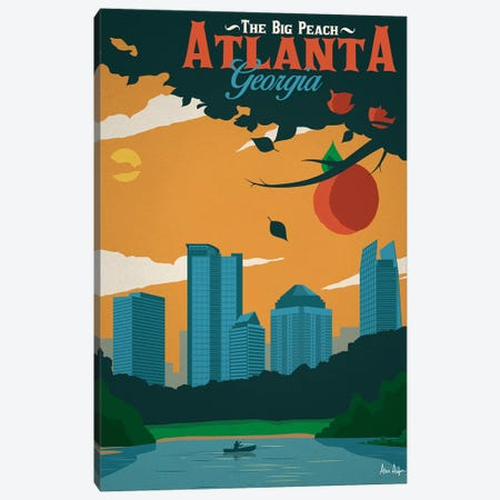 Atlanta Canvas Print #IDS36} by IdeaStorm Studios Canvas Art