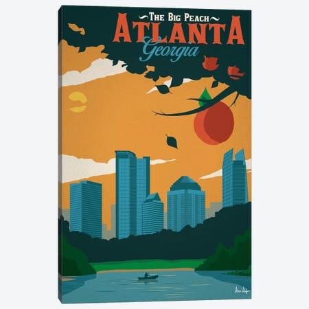 Atlanta Canvas Print #IDS36} by IdeaStorm Studios Canvas Art