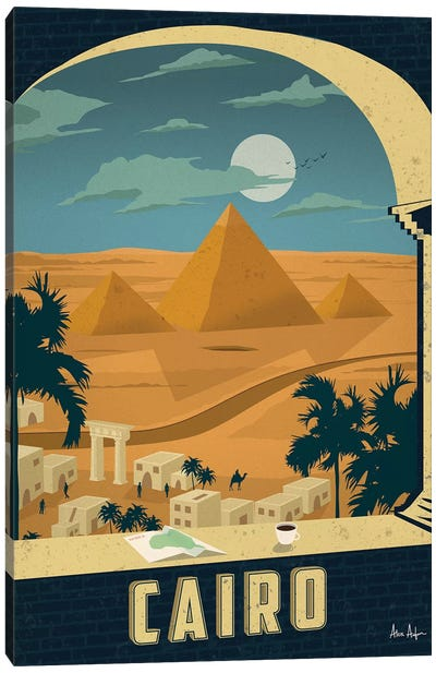 Cairo Canvas Art Print