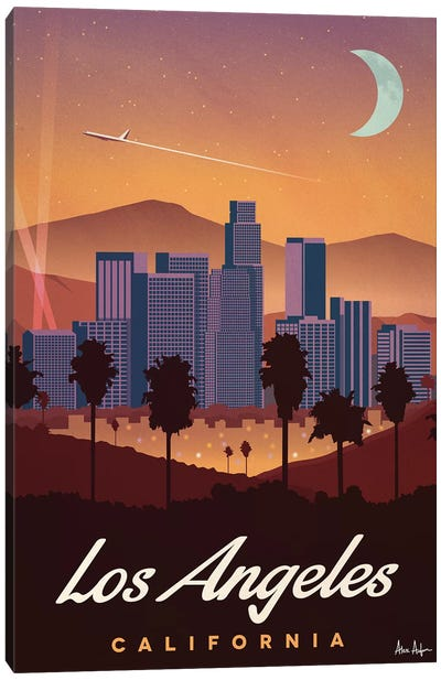 Los Angeles Canvas Art Print