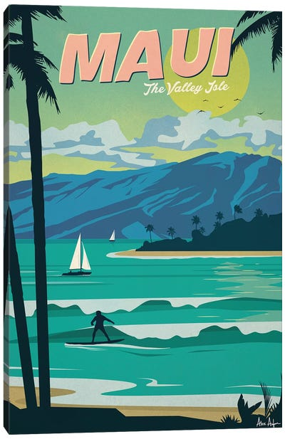 Maui Canvas Art Print