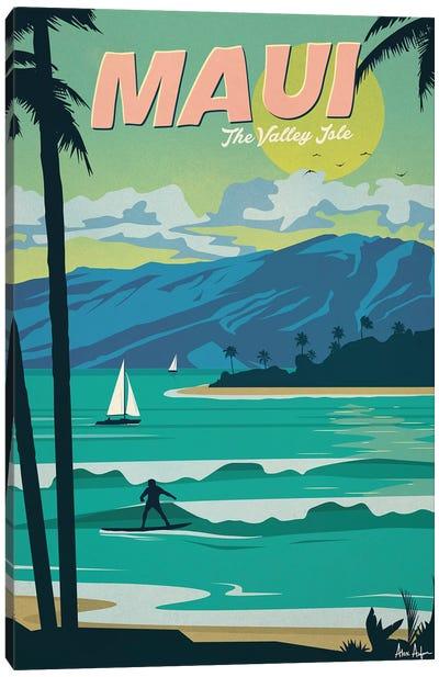 Maui Canvas Art Print