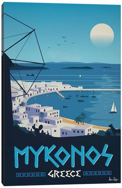 Mykonos Canvas Art Print