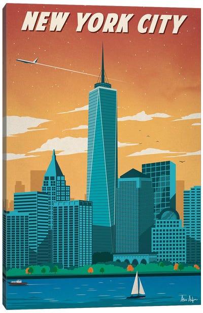 New York City II Canvas Art Print