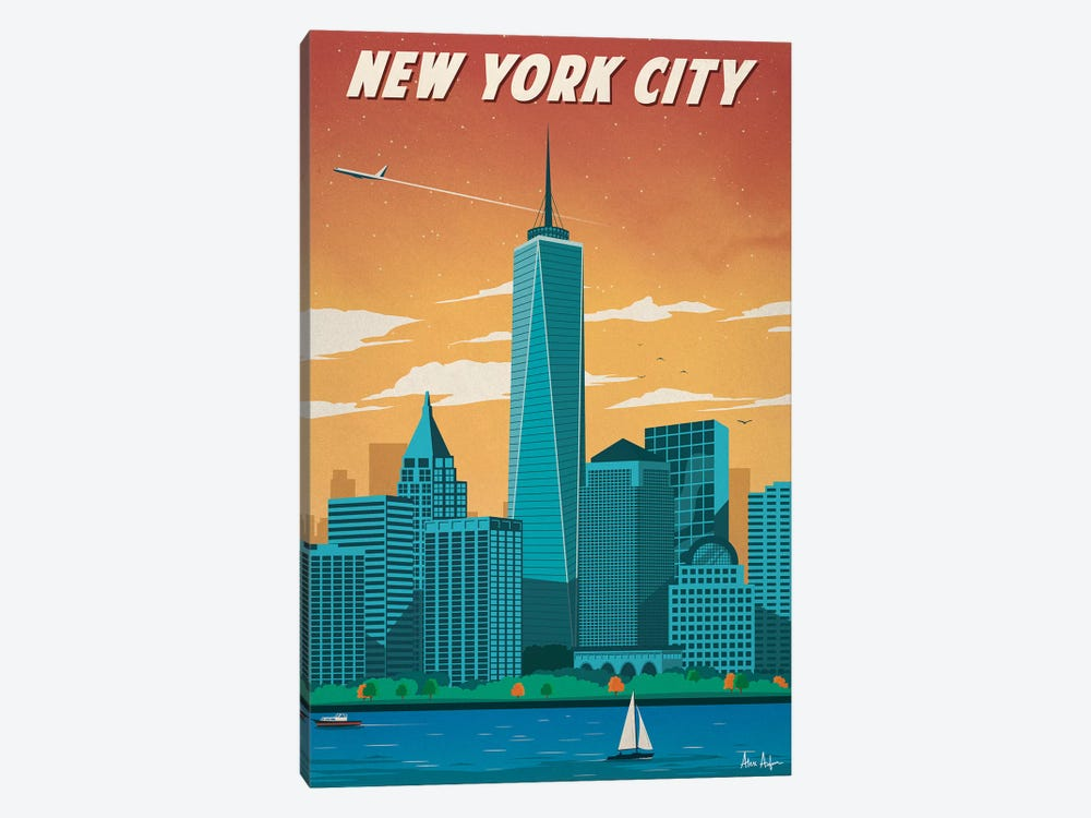 New York City II by IdeaStorm Studios 1-piece Canvas Print