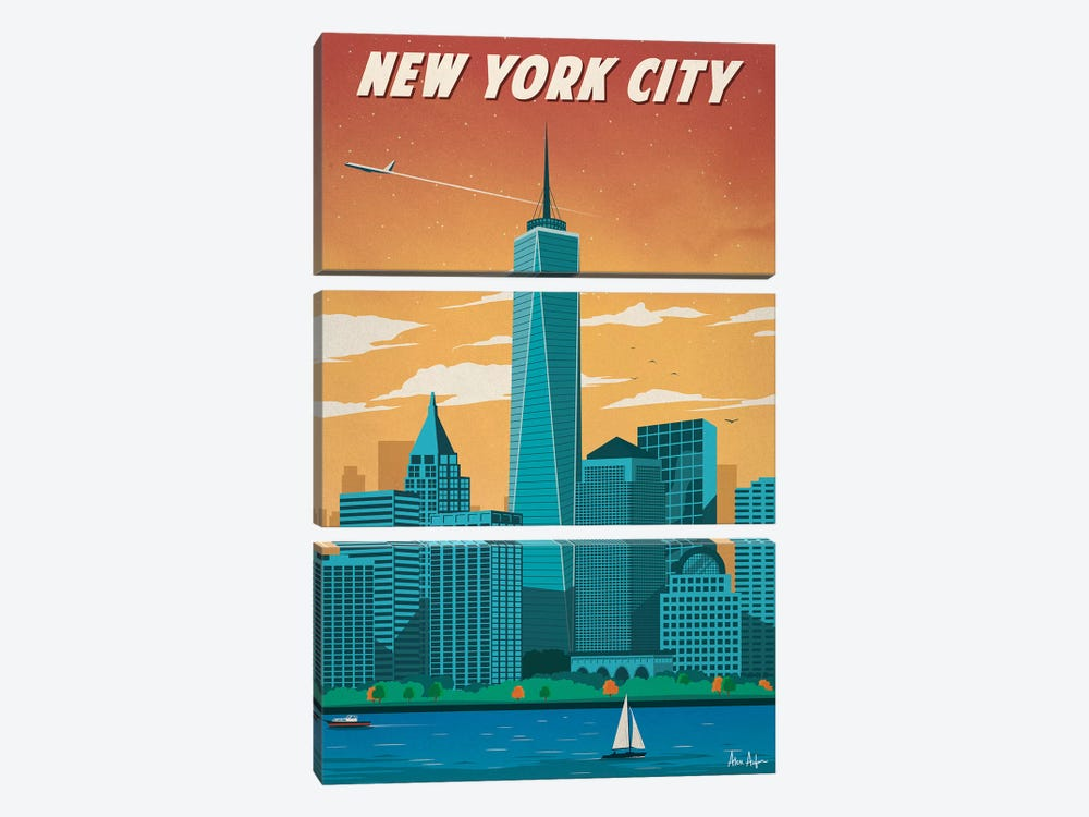 New York City II by IdeaStorm Studios 3-piece Art Print